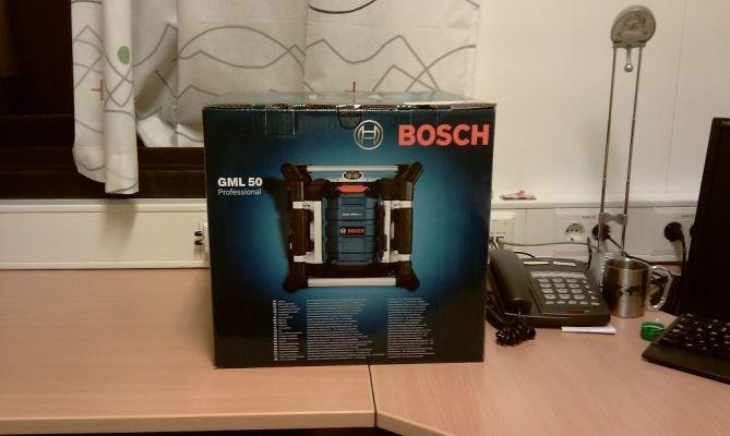 produkttest bosch gml 50 byggeradio byggebolig. Black Bedroom Furniture Sets. Home Design Ideas