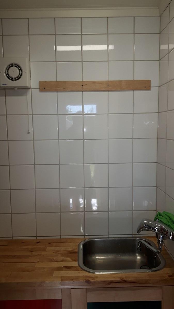 Norges minste vaskerom - total oppussing - ByggeBolig.no