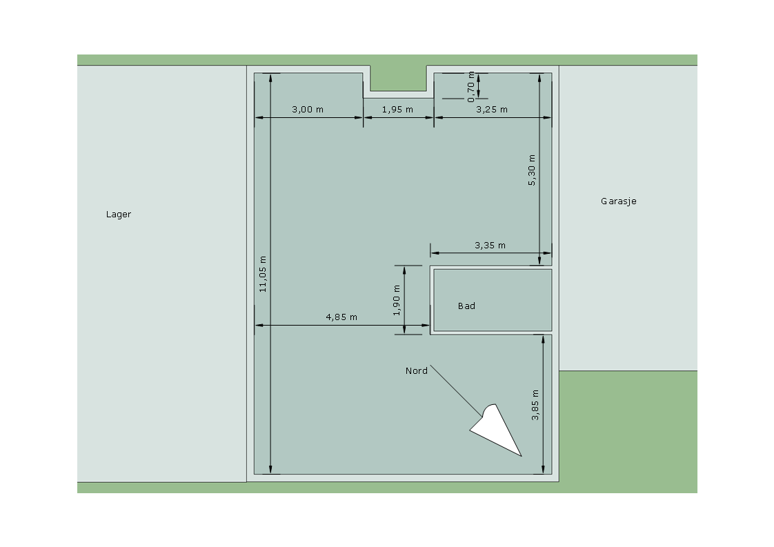 Forslag til planl?sning leilighet - ByggeBolig