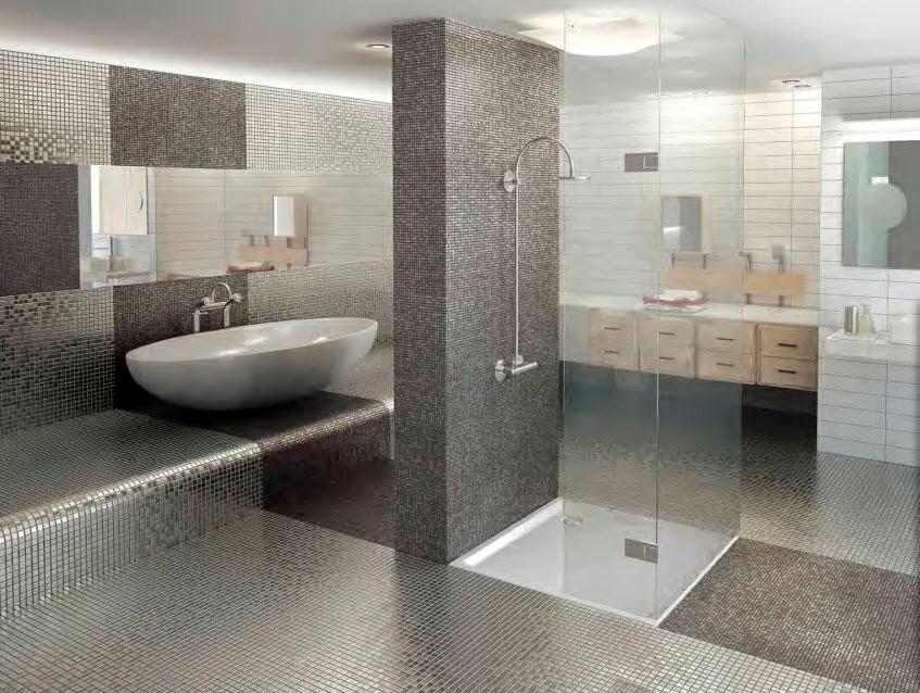 inspirasjon bad : Trenger inspirasjon til oppussing av badet mitt. Stikkord: Minimalisme, mosaikk. Post gjerne ...