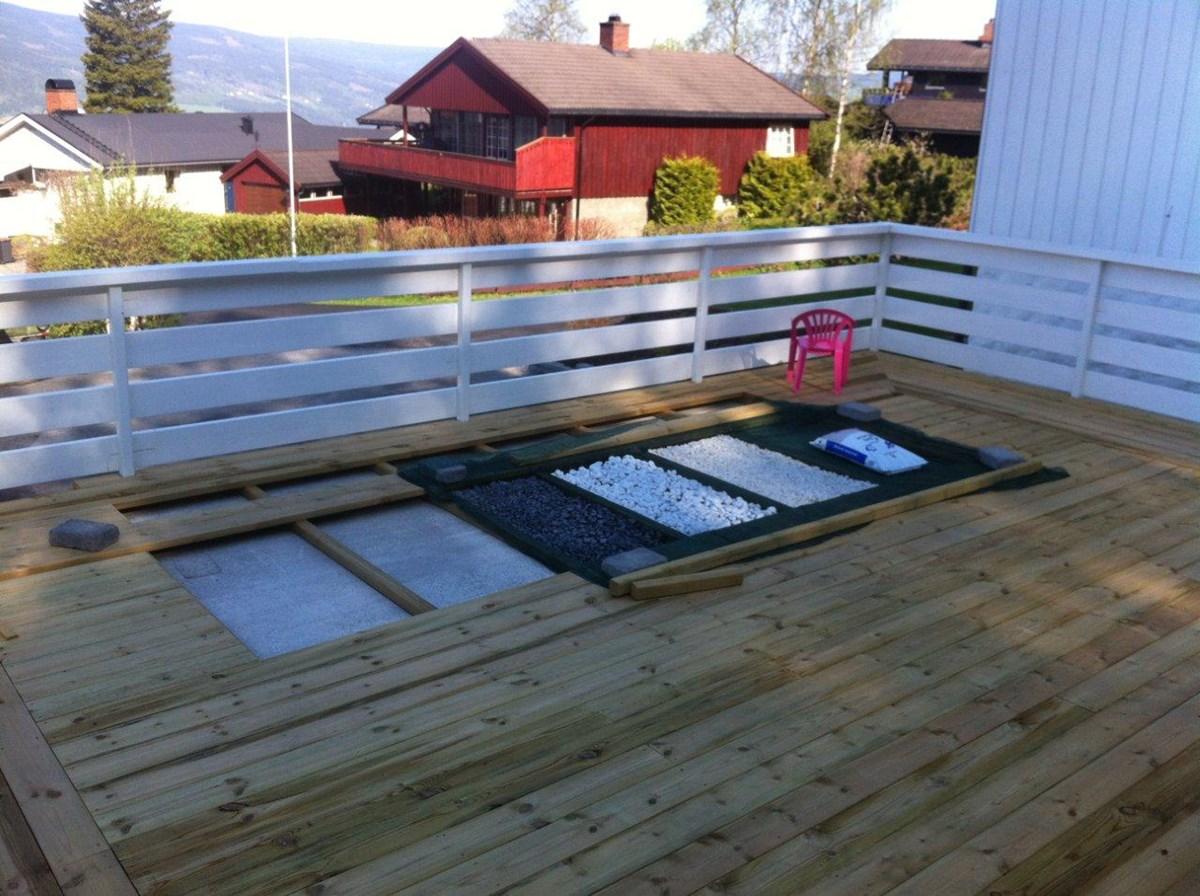 glassgulv p terrassen byggebolig. Black Bedroom Furniture Sets. Home Design Ideas