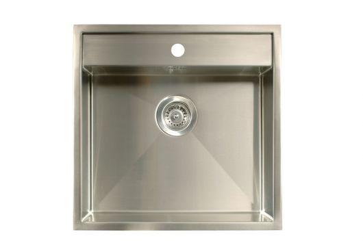 Kjøkkenvask: Underlimt, planlint eller nedfellt - ByggeBolig