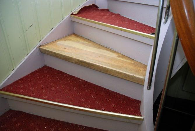 Oppussing av trapp: Skal male trappen, men hva med trinnene? - side 3 ...