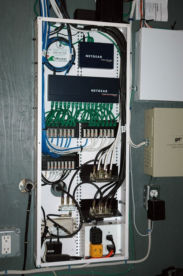 On Q Structured Wiring Panel