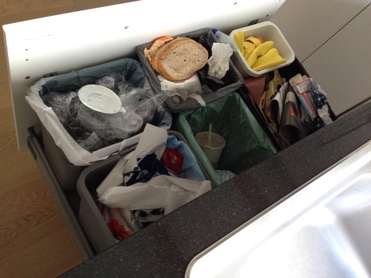 Søppelskuff i (bodbyn) kjøkken fra IKEA - ByggeBolig