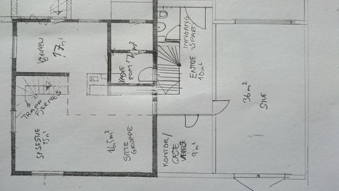 Praktisk å dele av kjøkken og stue... - ByggeBolig.no