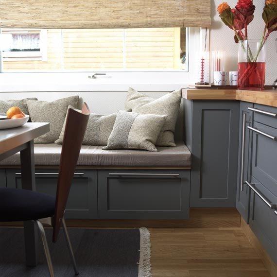 Hvordan lager man sittebenk av kjøkkeninnredning?   byggebolig.no
