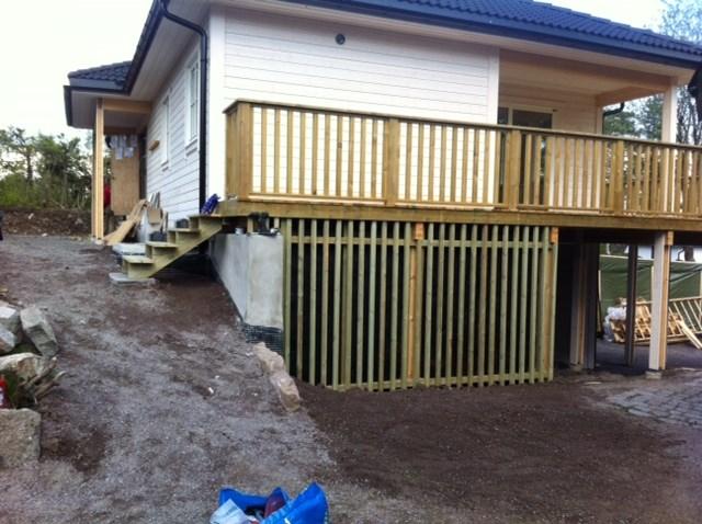 Terrassen Veranda kle igjen veranda byggebolig