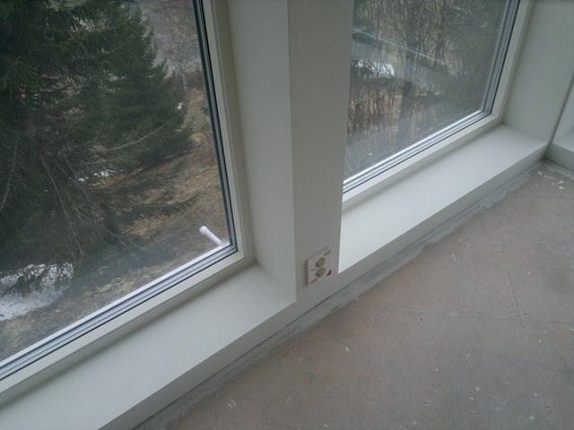 Hvordan f? til fine fuger ved listefrie vinduer
