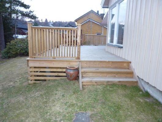 Tips til utforming av rekkverk på veranda - ByggeBolig