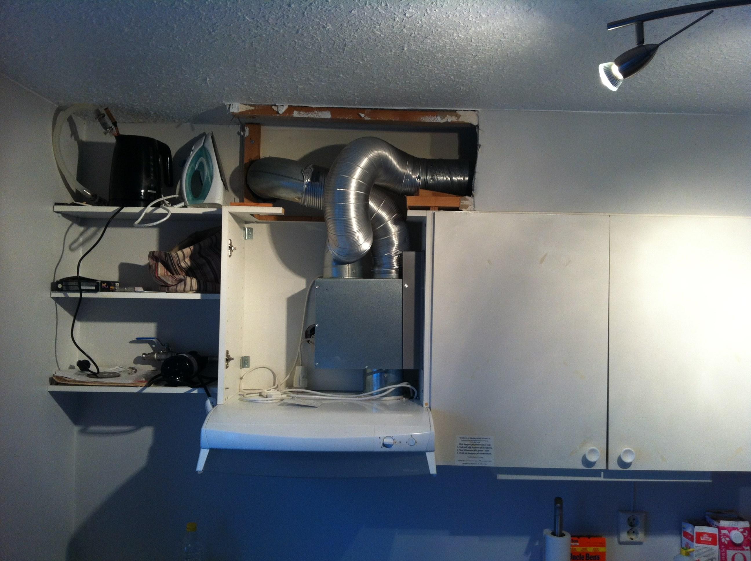 Nytt kjøkken - Ventilasjon skaper hodebry - ByggeBolig