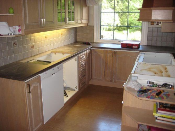 Bidda: lett oppussing av kjøkken   byggebolig.no