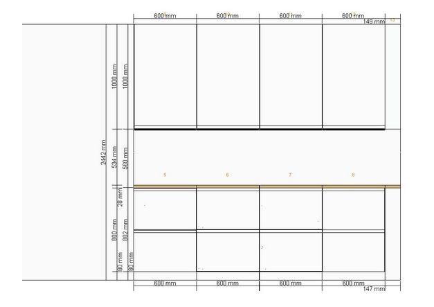 IKEA Metod overskap mot tak - ByggeBolig
