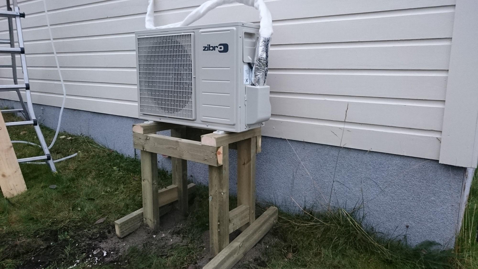 luft til luft varmepumpe test