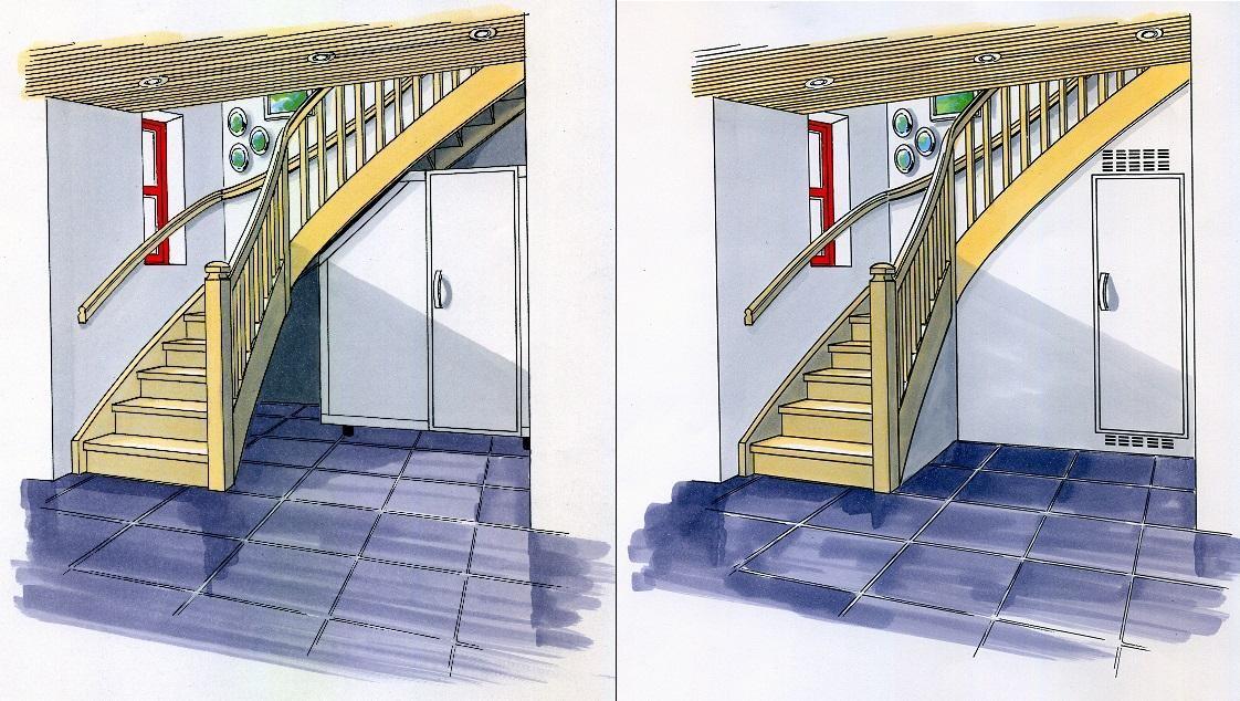 Jorgenw: skap/bod under trapp   byggebolig.no