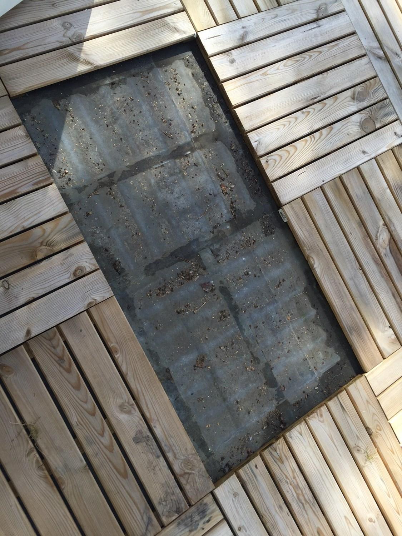 Vannlekkasje fra terrasse ned i bod - hvordan tette terrassen ...