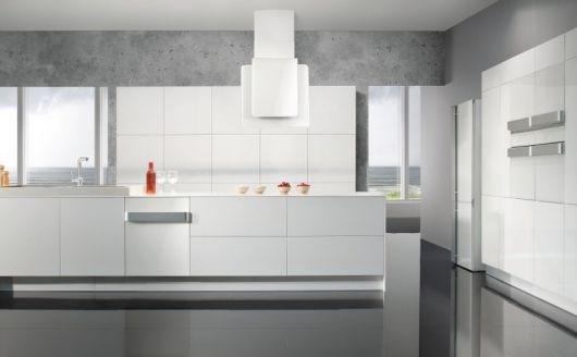 Hvite hvitevarer og hvitt kjøkken! - ByggeBolig.no