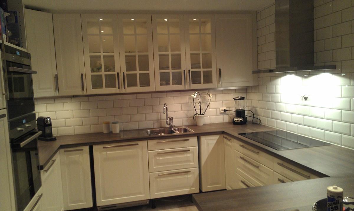 Ønsker råd: benkeplate til IKEA Lidingø kjøkken - IMAG0014.jpg ...