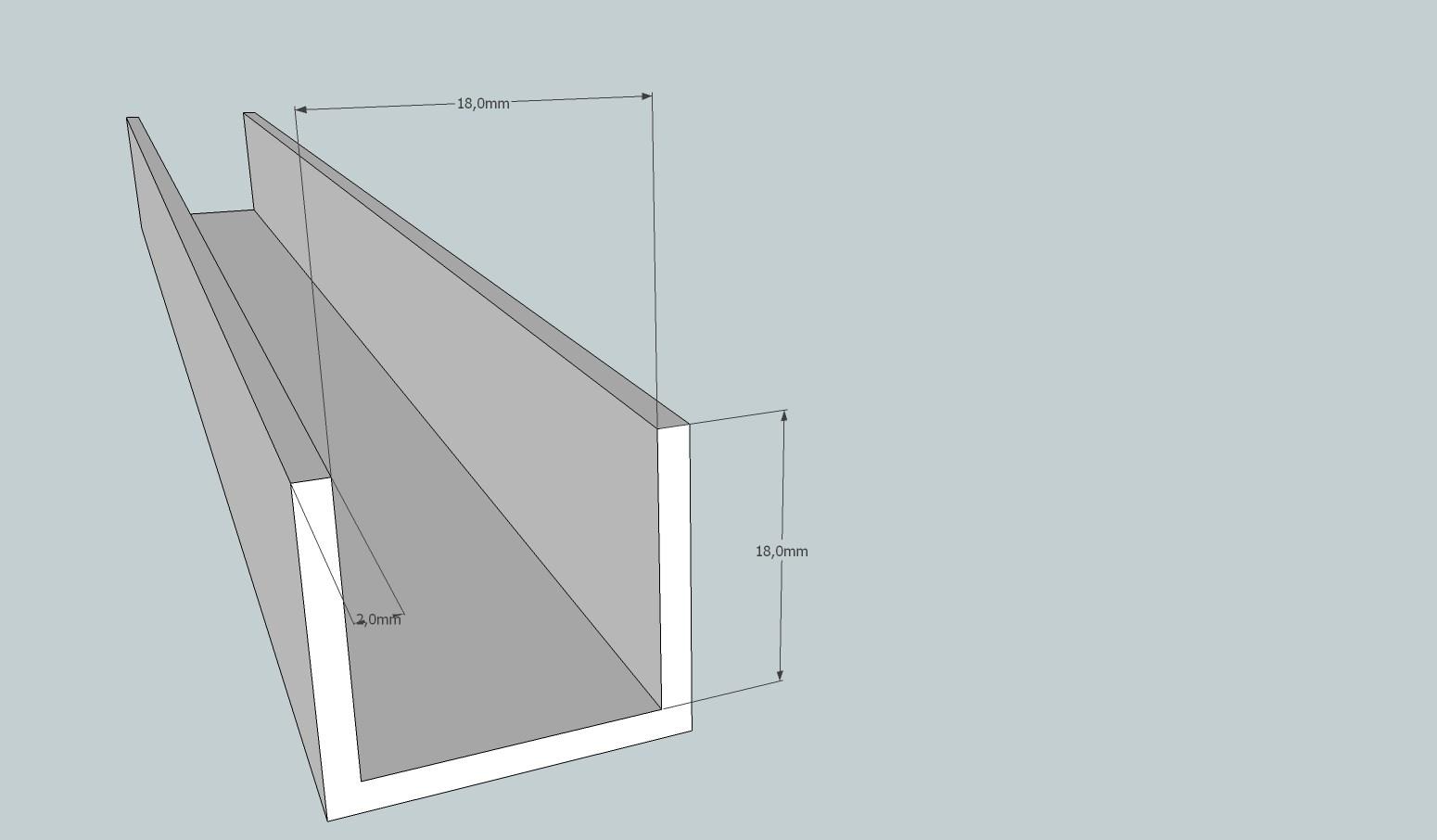 u profil i aluminium byggebolig. Black Bedroom Furniture Sets. Home Design Ideas