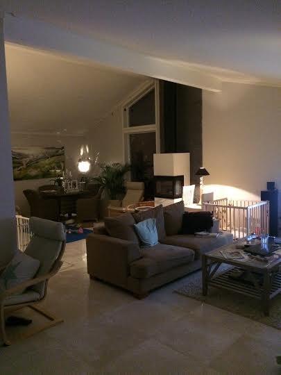 Hjelp til belysning av stue med åpen himling.   byggebolig.no