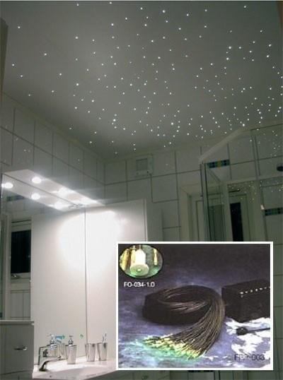 """Fiberoptisk lys """"stjernehimmel"""" - ByggeBolig.no"""