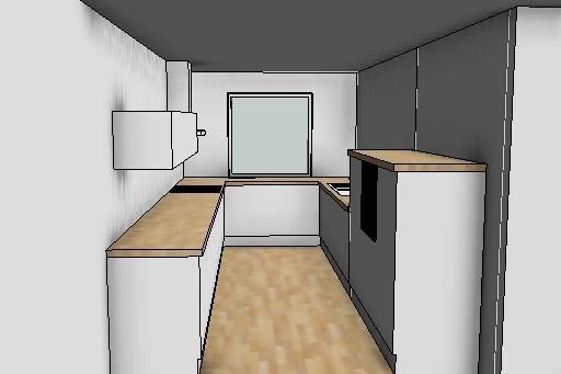 Langt, smalt kjøkken   byggebolig.no
