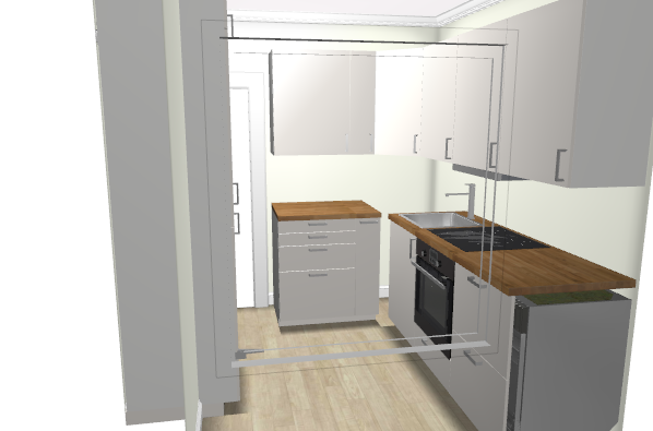 Kjøkkenløsning i et lite kjøkken - kjokken3.png - GustavP