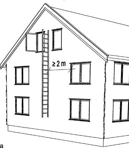 R?mningsvindu m? ha h?yde minimum 0,60 m og bredde minimum 0,50 m