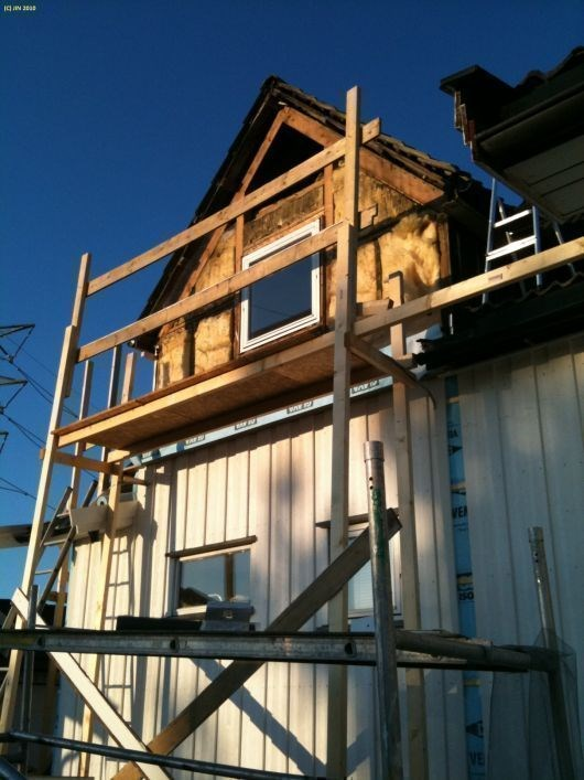 Isolering og panelbytte på gammelt hus   rar vegg...   byggebolig.no