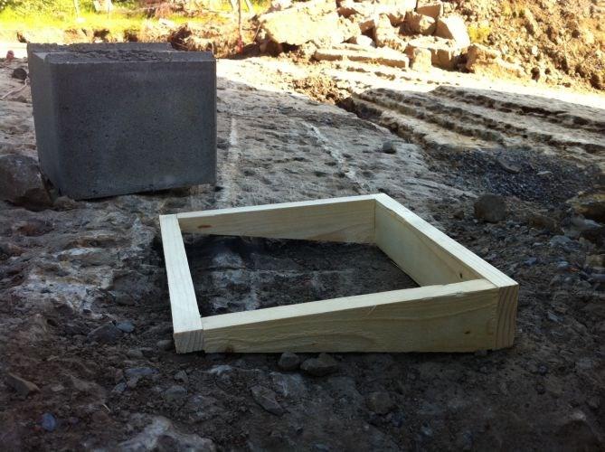 minimumstykkelse ved st ping av fundament byggebolig. Black Bedroom Furniture Sets. Home Design Ideas