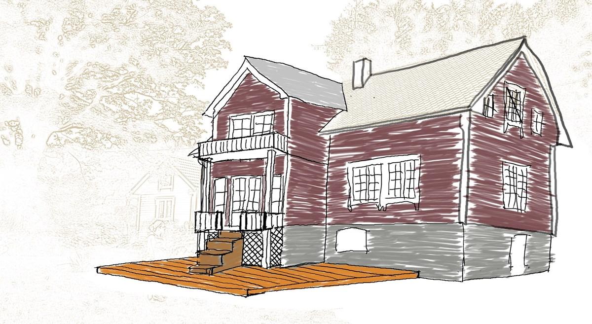 Bygge på ark/karnapp + terrasse? - ByggeBolig