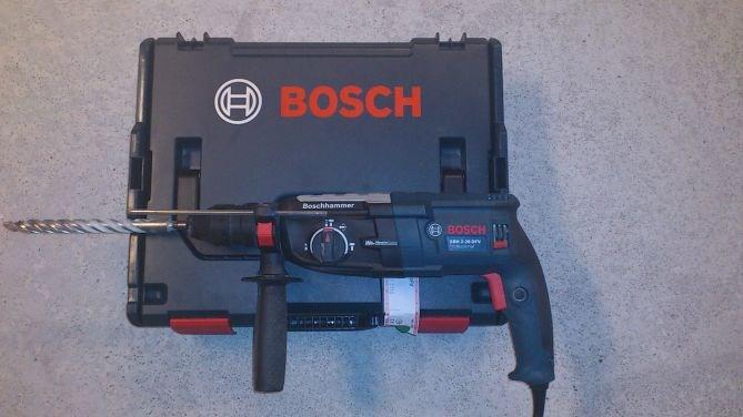 test av borhammer bosch gbh 2 28 dfv 2 kg klasse byggebolig. Black Bedroom Furniture Sets. Home Design Ideas