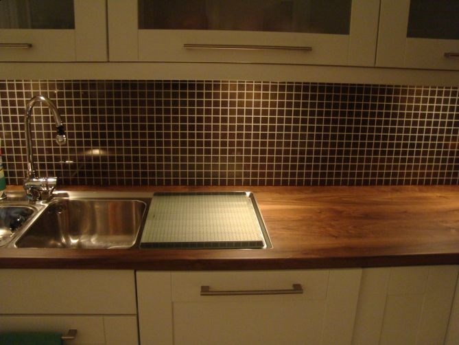 Hvilken farge p alloc kitchen wall byggebolig for Kitchen 87 mount holly