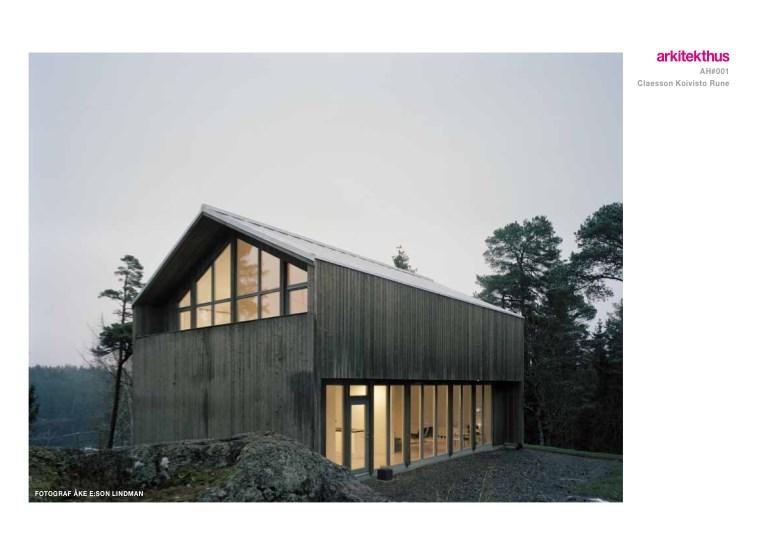 Forside Planløsning og Fasade Arkitektur som uttrykksmiddel