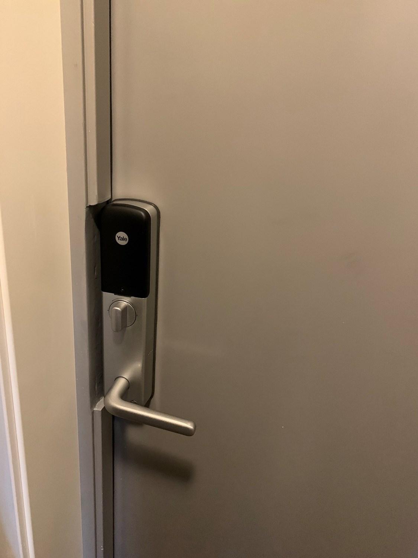 Yale Doorman Går Ikke I Lås