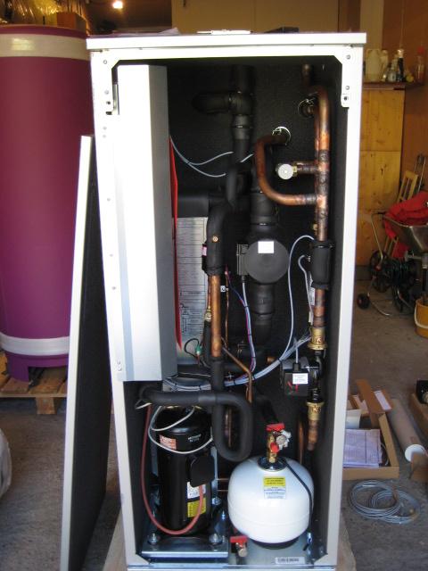 varme pumpe termostaten hekte