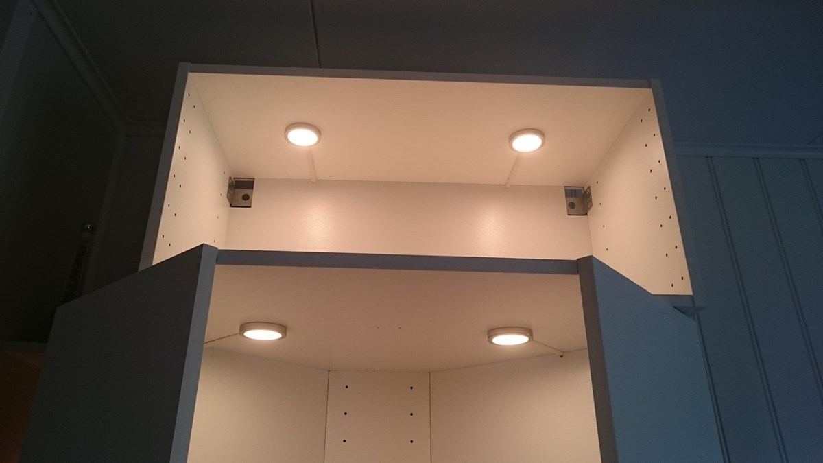 tips til belysning for kjøkkeninnredning ønskes - byggebolig