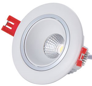 Led Downlight COB 8W 650LM 2700K - 180,- pr stk - 1 COB-8WR.jpg - 2rgeir