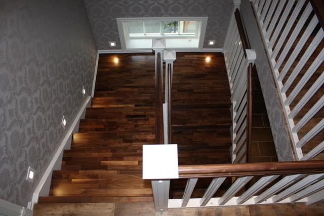 Då det vart klart for oss at vi trengte trapp i huset eg bygde var vi ...