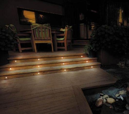 led lys i terrassebord gulv byggebolig. Black Bedroom Furniture Sets. Home Design Ideas