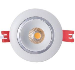 Led Downlight COB 8W 650LM 2700K - 180,- pr stk - 1COB-8WR.jpg - 2rgeir