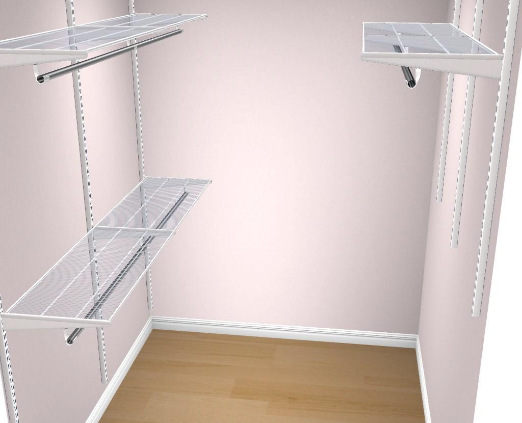 Svært Hjelp til lite walk-in closet - ByggeBolig VT-44