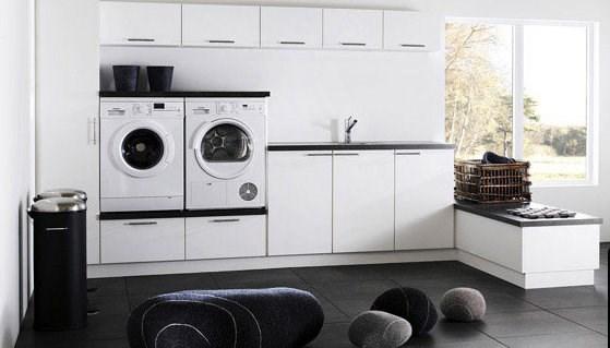Fra mega Ikea kjøkkeninnredning som vaskeromsinnredning - ByggeBolig GF-99