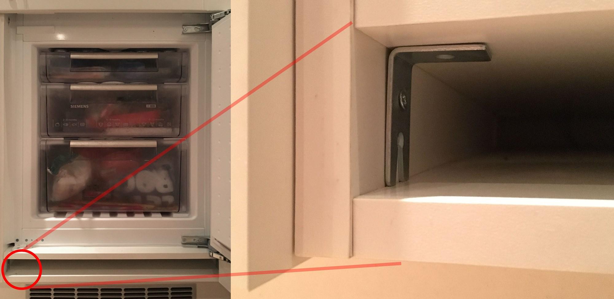 Seriøst Problem med integrert kjøleskap HTH - ByggeBolig IJ-19