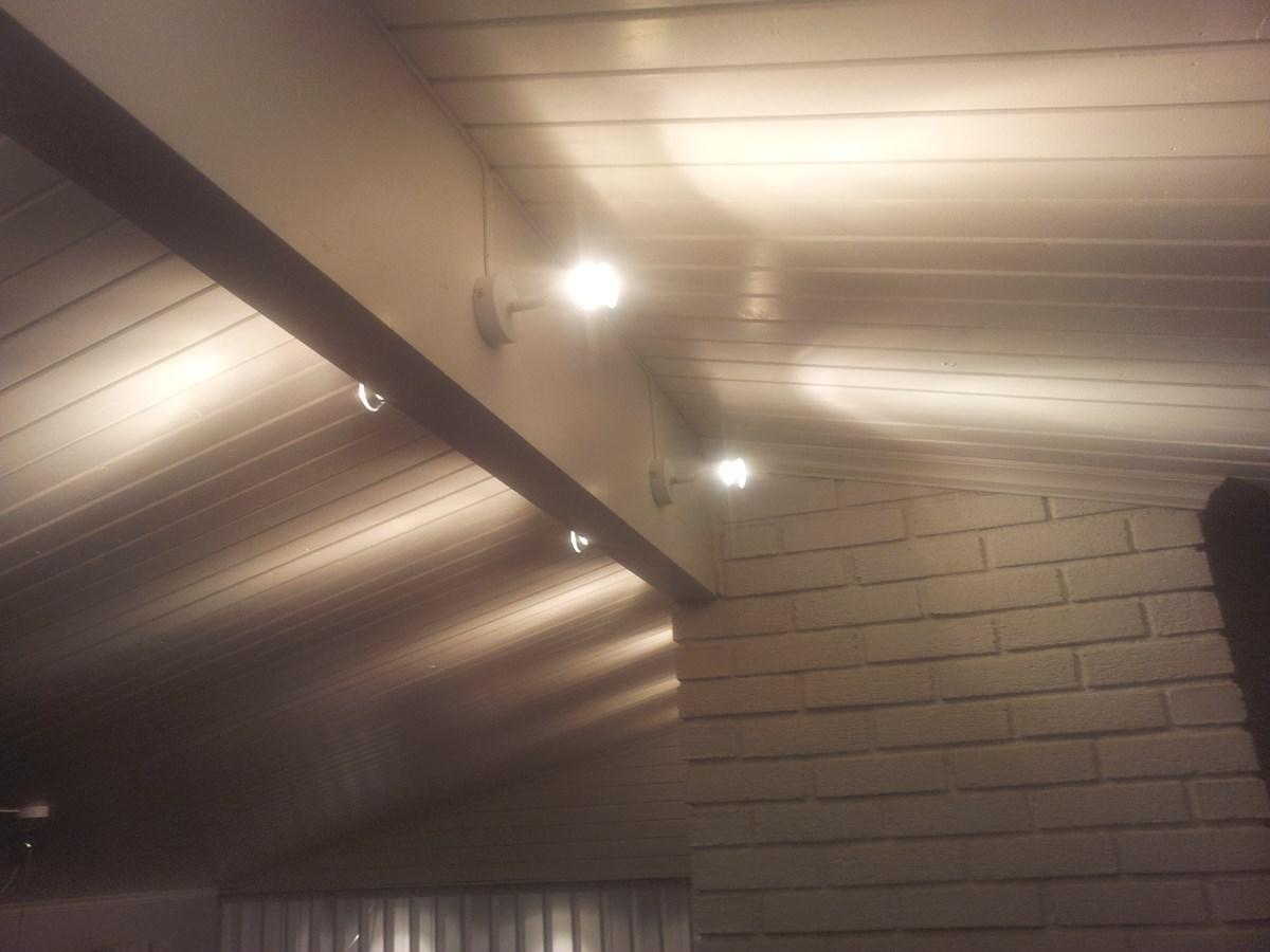 Svært Lyskilde til skråtak i stue - ByggeBolig KH-11