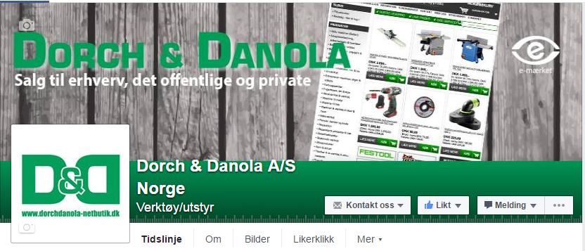 Dorch & Danola Din verktøyleverandør på nett! ByggeBolig