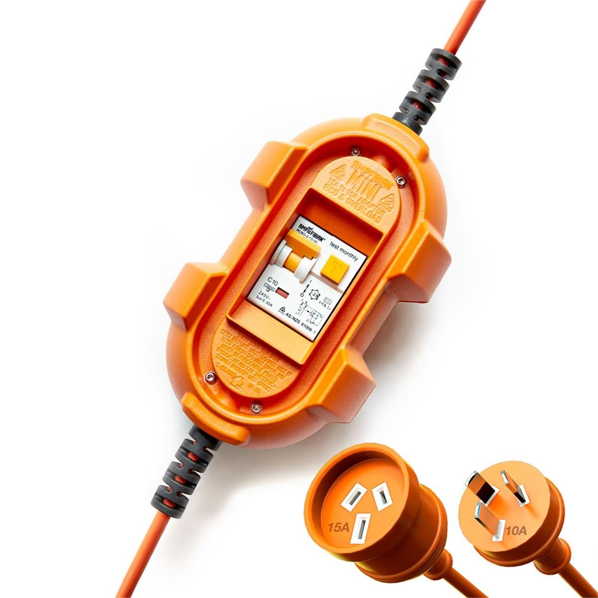 Topnotch 10A til 16A adapter med 10A sikring? - ByggeBolig GB57