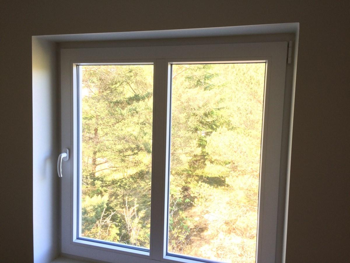 Svært Hvordan montere lystette gardinger pent i dette vinduet? - ByggeBolig XL-95