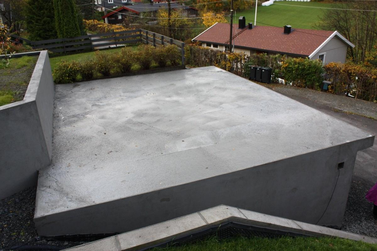Topnotch Vanntett dekke til flatt garasjetak av betong - ByggeBolig GF-35