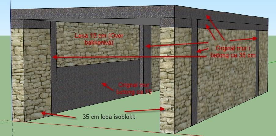 Fasjonable Kondens i garasje, hvordan isolere på riktig måte? - ByggeBolig KL-18